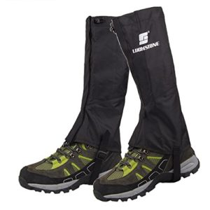 DishyKooker Protège-Jambes Imperméable Respirant Legging Extérieur Randonnée Randonnée Escalade Chasse Trekking Neige Jambe Protection Leggings