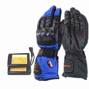 GSC-clothing Gants Chauffants Gants Chauffants pour écran Tactile avec Batterie Rechargeable Li-ION Chauffants pour Hommes et Femmes, Gants Chauds pour Cyclisme, randonnée en Montagne, Ski Alpinisme