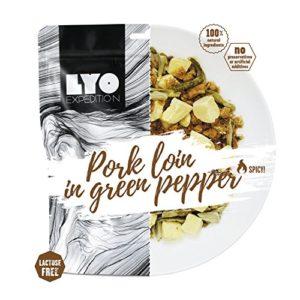 Lyofood – Sauce à Poivre Vert avec Pommes de Terre séchées sans Lactose – 2 Go – pour Le Camping, la randonnée, la Nourriture, la Viande, Les urgences – pour Les Voyages, Adulte Mixte, Big Pack