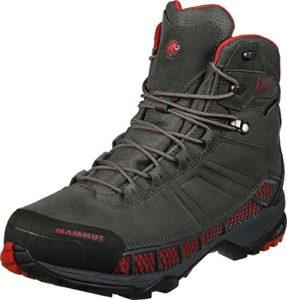 Mammut Chaussure Comfort Guide High GTX Surround Homme Graphite/Inferno–Bottes de Montagne, Homme, Homme, Gris, 7