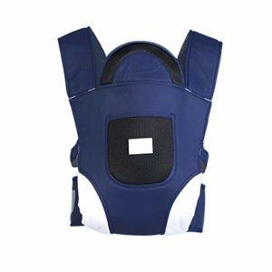 X&hui Porte-bébé Multifonctionnel Tabouret en Coton Bleu à la Taille Respirant léger en Maille Kangourou Avant Escalade en Plein air bébé Nouveau-né Facile à Ranger de 0 à 36 Mois (3,5 à 20 kg),Blue