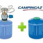 Altigasi Réchaud à gaz de camping bleuet Micro Plus Campingaz avec système de cartouche amovible + 1 cartouche CV300 de 240 grammes
