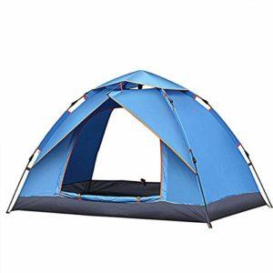 empty Couple Camping Tente extérieure Automatonlike Campement Tente Tente de Plage Shade Facile à Transporter (Color : Blue)