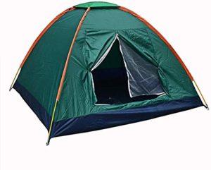 empty en Dehors Bivouac 3-4 Personnes Auvent étages Unique Parc de Loisirs Tente Tente de Pique-Nique de pêche Portable Facile à Transporter (Color : Green)