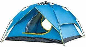 empty Portable 4 Personne instantanée Doublement Layer Pop Up Bivouac Tente abri extérieur Facile à Transporter