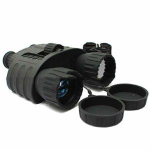 SYH Jumelles Vision Nocturne Infrarouge Haute définition, Jour et Nuit, Double Usage pour la randonnée en Camping en Plein air