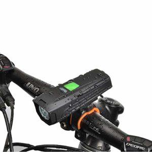 SYH Lumière de Bicyclette Éblouissement LED USB Charge T6 High-Light Riding Éclairage de vélo de Montagne pour la Conduite de Nuit, Voyage en Plein air