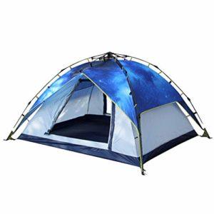 YYH 3-4 Personnes à l'extérieur Tente entièrement Automatique épaississement et Tente de Camping abri Pare-Soleil auvent de Tente
