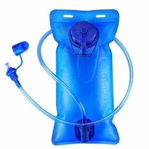 2L Sac d'hydratation de vessie, ICETEK Sac à Dos d'hydratation BPA Gratuit Réservoir d'eau étanche aux fuites avec Valve à Blocage Le Sac d'eau à vélo pour la randonnée Sportive Camping Escalade