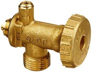 Campingaz 4330269 AZ 32417-valve de sécurité pour régulateur de Pression du gaz, Multicolore