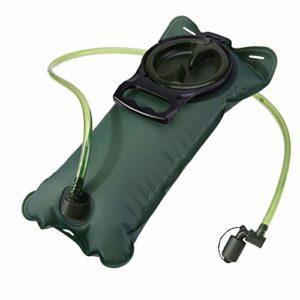 Hipier Poche a Eau Sac a Dos Portable Réservoir d'eau de Sport sans Bpa Vessie d'hydratation pour la Randonnée Le Vélo et l'escalade (3L)