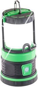 Lampe de camping à LED avec fonction batterie dappoint 3600 mAh [Lunartec]