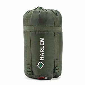 Lixada Warmth Isolation Sac de Couchage Zippered Sleeping Bag Enveloppe Sac de Couchage Camping en Plein Air Matériel d'escalade