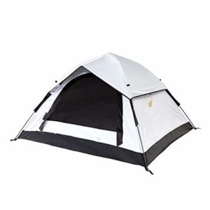 Lumaland Tente Outdoor de Camping Réfléchissant Automatique Pop Up extérieur réfrigéré 3 Personnes