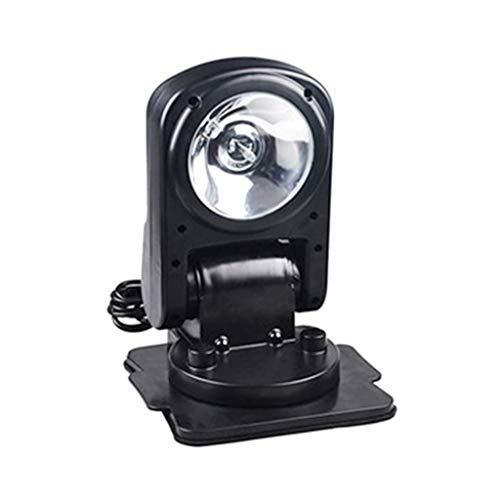 LYATW Puissant 35W Lumens 3500, Lampe de Poche d'éclairage extérieur Gamme intérieur Rotatif Handheld Chasse Camping Portable Spotlight d'aviron Farming Patrol
