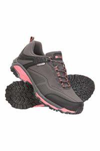 Mountain Warehouse Chaussures imperméables Collie pour Femmes – Légères, Respirantes, Chaussures de randonnée Douces – idéales pour la Marche et la randonnée Gris 38