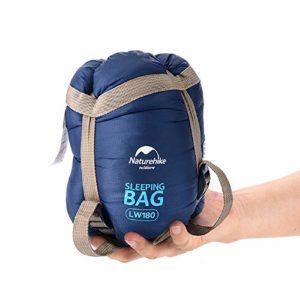 Naturehike 75 x 29.5 » Mini ext�Rieur Ultral�ger Enveloppe Sac de Couchage Ultra-Petite Taille pour Camping Randonn�e Escalade NH15S003-D