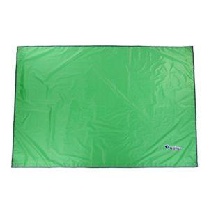 OUTAD matelas-bâche de camping d'extérieur, tapis de sol pour tente, coupe-vent, imperméable et pare-soleil, Green