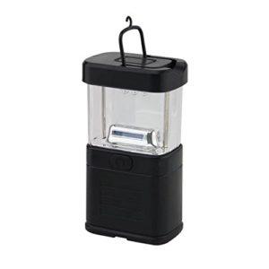 Ricisung 27LED Super Bright Compact étanche Home lampe de travail WorkLight Bivouac Pêche Camping Randonnée Tente lampe Lanterne lampe de poche W/crochet de suspension, noir