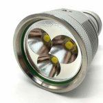 SYH Lampe Torche Forte Forte Puissance 3 Noyau avec Batterie Longue portée pour randonnées en Camping en Plein air