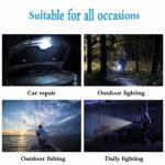 SZR Lampe de Camping portative Rechargeable par USB, adaptée à: la randonnée, Le Camping, Les urgences, Les pannes