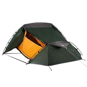 Ultrasport Tente de camping pour les festivals, le camping ou la randonnée, sac de rangement inclus, protection anti-UV et moustiquaire, colonne d'eau jusqu'à 1000mm, env. 2,33x1,88mx 1,00 m