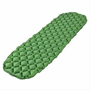 WLLBT Matelas de couchage gonflable de camping Petit coussin résistant à l'humidité, adapté pour la randonnée