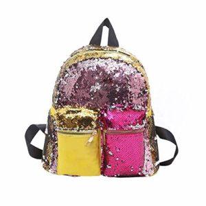 Yutongyi Sacs de Trekking Sac à Dos de Voyage de Sac d'école de Mode, Sacs d'école d'épaule Occasionnels de Sac à Dos de Paillettes Multicolores Randonneurs de Sports de Plein air (Color : 5#)