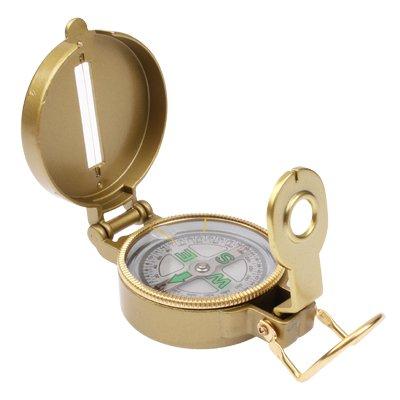 CELINEZL Randonnée Compass Lensatic de Navigation de Camping Militaire Randonnée