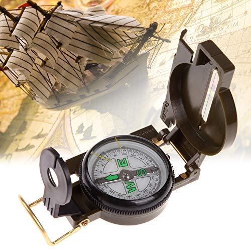 CELINEZL Randonnée Portable Armée Pliante Vert Lentille Compass Multifonction Mini Camping Climbing Outdoor Tool Randonnée