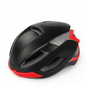 GLH Casque de Cyclisme Casque de sécurité Hommes et Femmes intégré Moulage équipement de Chapeau de vélo de Route de Montagne (Couleur : Black)