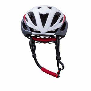 GLH Casque de vélo de Montagne mâle Monobloc Chapeau de vélo vélo Casque de vélo de Route (Couleur : Blanc)
