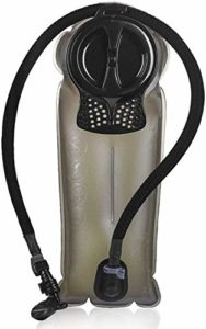 Unigear Poche Hydratation, sans BPA, Approuvé par la FDA Poche, Reservoir pour la randonnée, vélo, la randonnée et Le Camping (Gris, 2,5L)