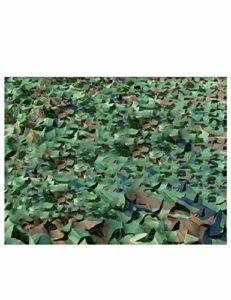 Filet de camouflage de la jungle antiaérienne, tente de camping pour tente de chasse à la tente de protection contre le soleil, en plein air, décoration de soirée à thème, support de réseau et de camo
