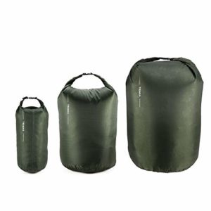 Goldyqin 8L 40L 70L Portable Imperméable Sac Sec Sac de Rangement pour Camping Trekking Trekking en Bateau Usage – Vert Militaire