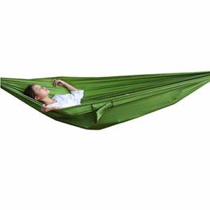 GWDJ Hamac de camping simple/double, léger et portable en nylon pour la randonnée, le voyage, la plage, (couleur : style3, taille : 240 x 120 cm)