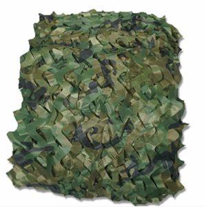 HANGMEN Filet de Camouflage,Filet de Ombrage Camouflage,Camo Oxford Tente,pour Camping,Soleil en Plein Air,Thème Parti Décoration,léger Durable,Personnalisable (10X60m(33x197ft))