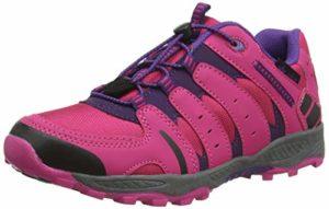 Lico Fremont, Chaussures de Randonnée Basses Fille, Bleu (Pink/Lila Pink/Lila), 25 EU