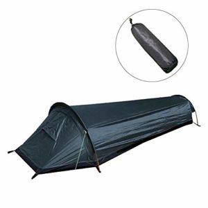 Lievevt Animgb Sac de couchage ultra léger pour lit simple et grand espace imperméable Housse pour bivouac pour camping en plein air