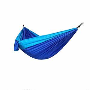 Lingxi Extérieur Approvisionnement Camping hamac Kit Simple Double avec Un Arbre Straps léger et Durable détente intérieur/extérieur Voyage Portable Camping Hammock (Color : Style 1)