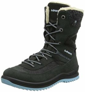 Lowa Emma GTX, Chaussures d'escalade Fille, Multicolore (Antracite/Blue 9771), 37 EU