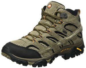 Merrell Moab 2 Leather Mid GTX, Chaussures de Randonnée Hautes Homme, Marron (Pecan), 47 EU
