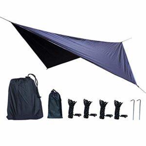 QqHAO Portable étanche Abri Camping Sun-Proof Tarp Tente de Plage pour la randonnée Pêche Pique-Nique,Violet