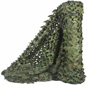 ROWE Filet de camouflage armée pour camping/ombrage/décoration, 4 m x 4 m, taille : 6 m x 20 m (taille : 6 m x 20 m)