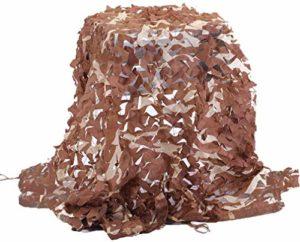 ROWE Filet de camouflage pour camouflage, protection contre les regards indiscrets, protection solaire pour jardin, camping – différentes tailles, 6 m x 6 m, taille : 4 m x 5 m (taille : 2 m x 3 m)