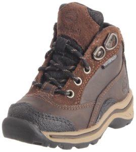 Timberland Pawtuckaway FTK_Lace Hiker, Chaussures de Trekking et randonnée Mixte Enfant – Marron – Marron, 31 EU