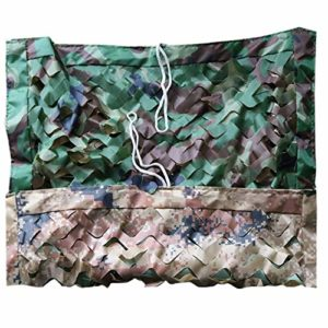 YHMT Filet De Camouflage Militaire, Voile D'ombrage Camouflage Double Face Épaississant, Protection Solaire Filets Décoratifs, Utilisés pour La Chasse/tir/Jungle Couverture/Cache Voiture/Camping