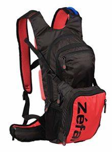 Zéfal Z Hydro XL – Sac à dos d'hydratation 11L + poche à eau incluse – Vélo/Randonnée/Trail