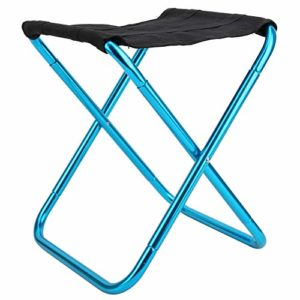 Zer one1 Tabouret Pliant, Tabouret Pliant, Tabouret de Camping Portable Chaise de pêche Mini Barbecue pêche pour l'escalade de Camping