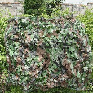 Eilun Filet de camouflage pour camping, militaire, chasse, protection contre le soleil, tente de voiture, housse de protection pour véhicule extérieur 2 x 3 m